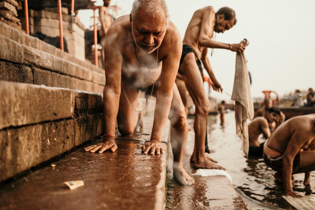 Du Réflex à l'Hybride sur les ghats de varanasi
