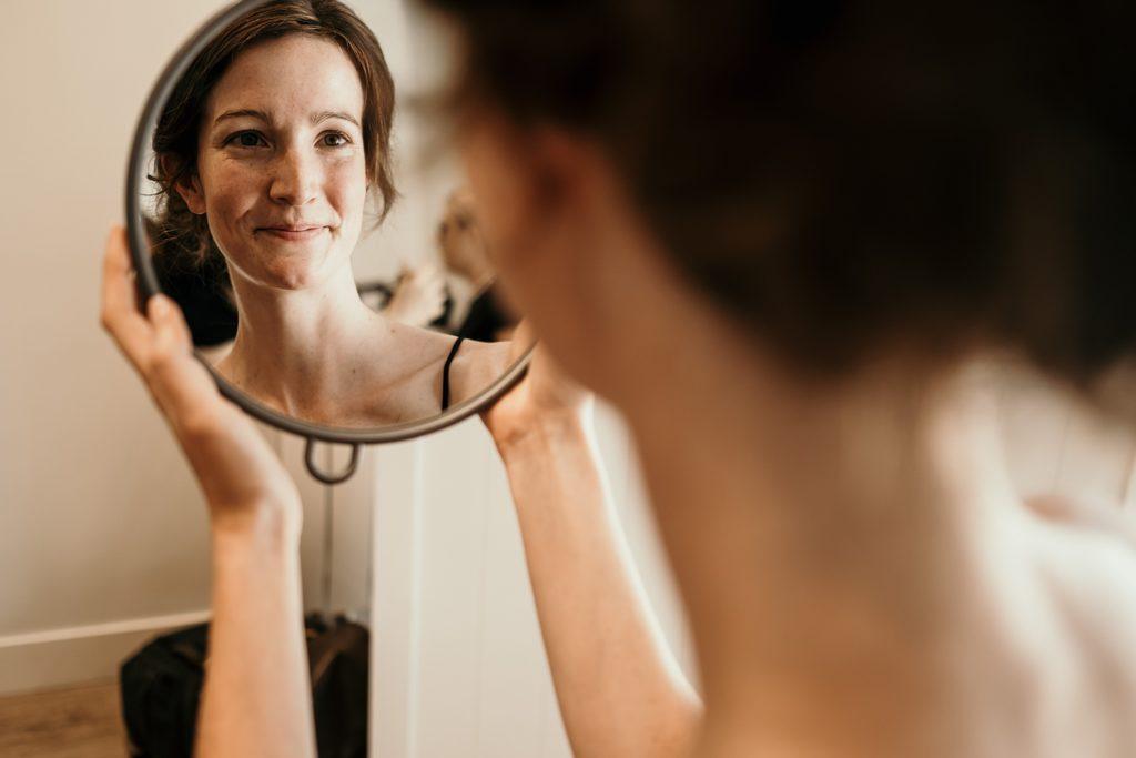 Photographe Mariage Bretagne préparatif mariée
