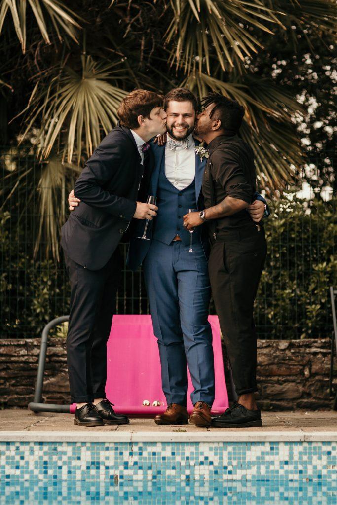 photographe mariage bretagne photo des témoins