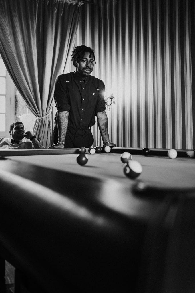 photographe mariage bretagne photo en noir et blanc