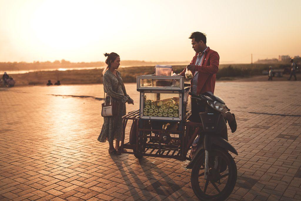 Que faire à Vientiane ? street food laos