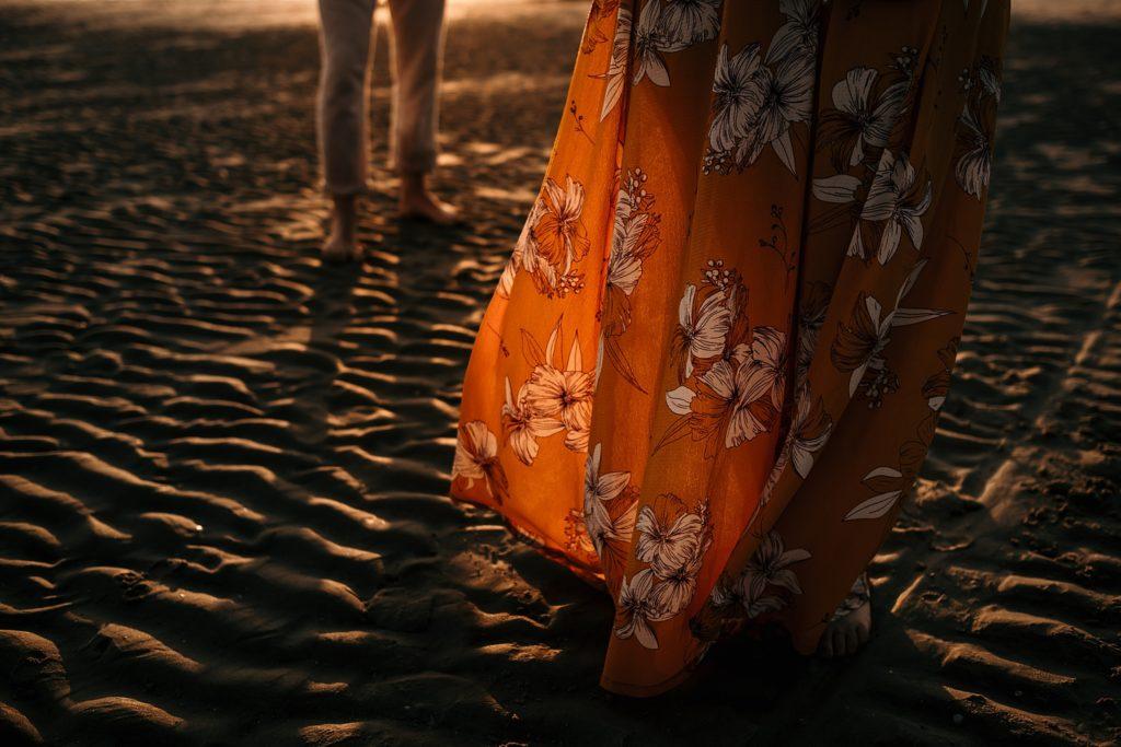 Séance photo Côte d'Opale les pieds dans le sable