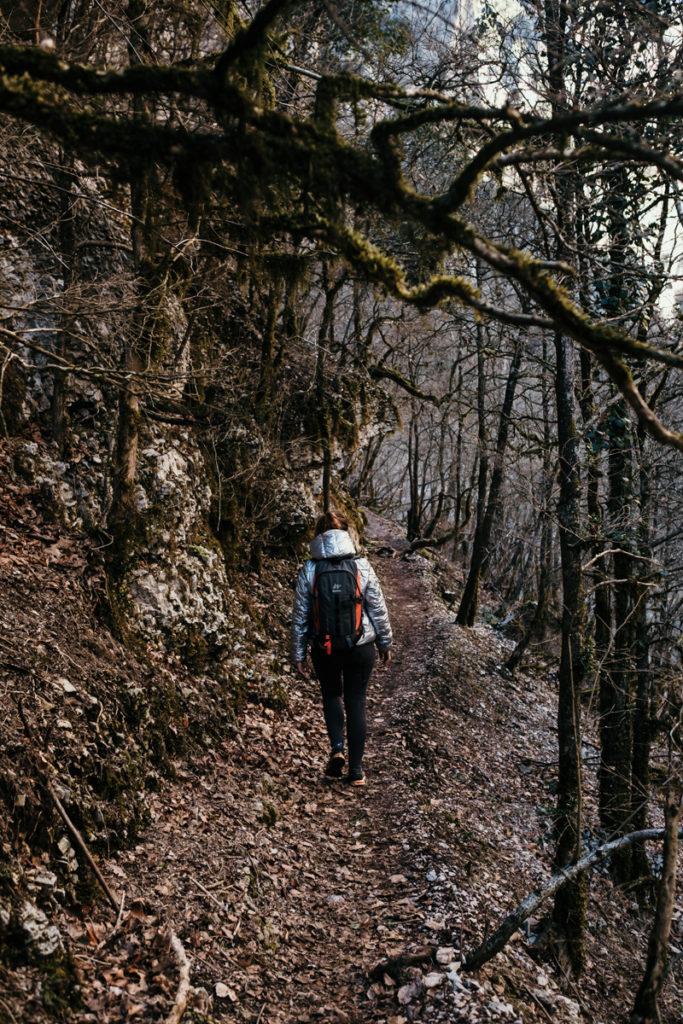 Les randonnées du Verdon en hiver